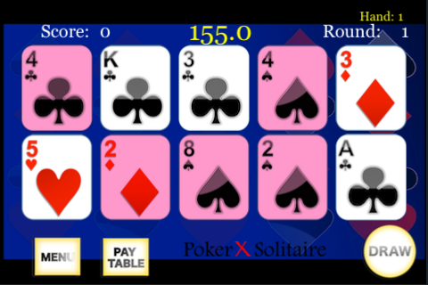 Screenshot Poker X Solitaire