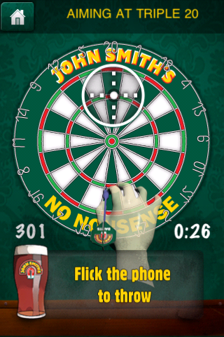 Screenshot John Smith&#39;s Pub Darts